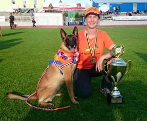 Ziva wereldkampioen 10.05.2015